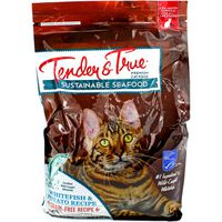 Tender And True Pet Food Cat Food, Premium, Whitefish & Potato Recipe, Sustainable Seafood