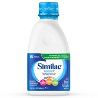 Similac Advance Infant Formula with Iron, Ready to Feed, 1 qt