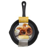 Good Cook Skillet Pan, Cast Iron, 7.5 In