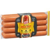 Oscar Mayer Bun-Length Uncured Angus Beef Hot Dogs, 8 ct - 15.0 oz Package