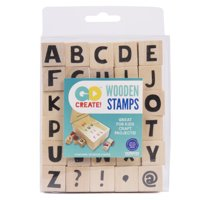 Go Create! Wooden Stamps, 30 Piece