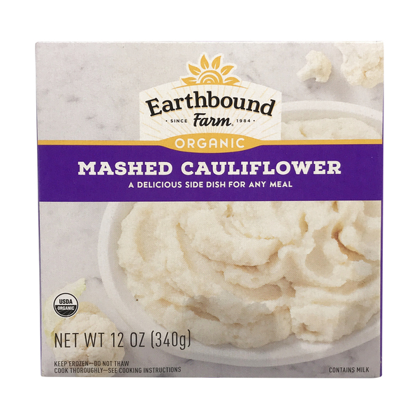 Earthbound farm Organic Mashed Cauliflower, 12 oz