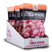 Wise Company Sliced Peaches Freeze Dried 6ct