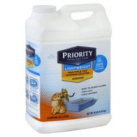 Priority Pet Cat Litter, Clumping, Scented, Multiple Cat, Lightweight