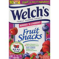 Welch's Fruit Snacks Berries 'n Cherries Berries 'N Cherries Fruit Snacks