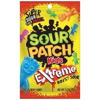 Sour Patch Kids Extreme Sour Soft and Chewy Candy - 7.2oz