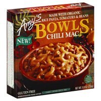 Amy's Frozen Bowls, Chili Mac, Gluten Free, 9-Ounce