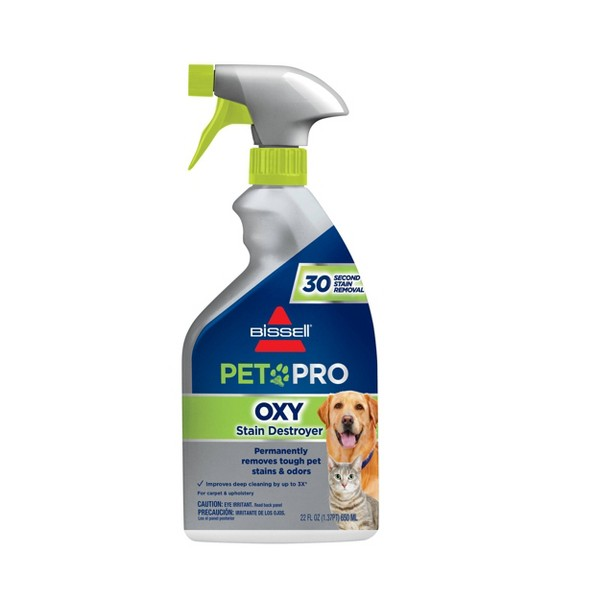 BISSELL 22 floz Oxy Stain Destroyer Pet For Carpet and Upholstery