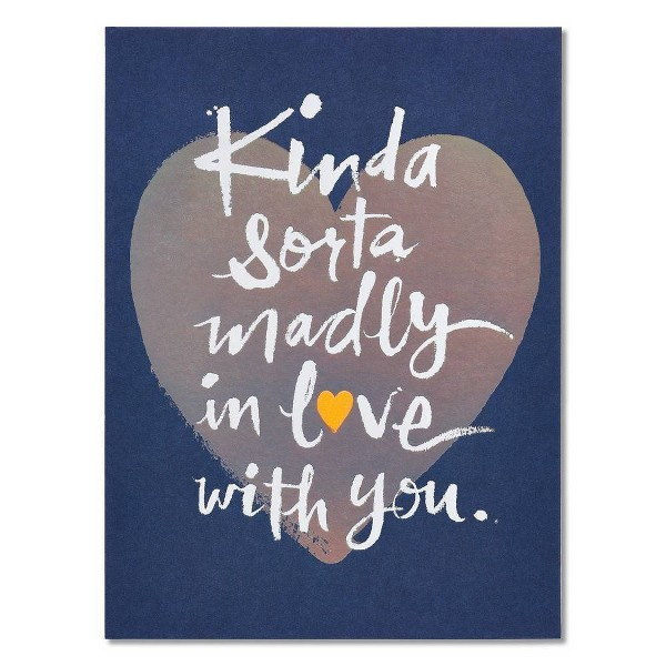 Madly in Love Father's Day Card with Foil - Present Company