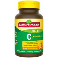 Nature Made Chewable Vitamin C 500 mg Tablets