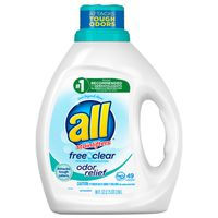 all Liquid Laundry Detergent, Odor Relief for Sensitive Skin