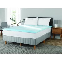 Mainstays 2 Inch Gel Infused Memory Foam Mattress Topper