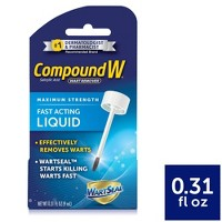 Compound W Maximum Strength Fast Acting Liquid Wart Remover - 0.31 fl oz