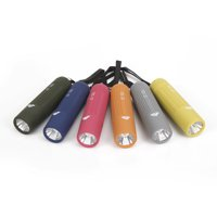 Ozark Trail Mini Handheld LED Flashlight, 50 Lumens, 6 Colors, Model 6103