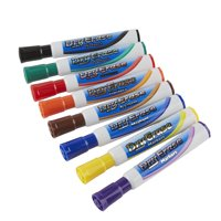 Dry Erase Marker, Assorted Colors, 8-Count