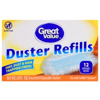 Great Value Duster Refills, 12 Count
