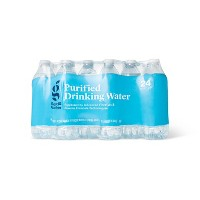 Purified Drinking Water - 24pk/16.9 fl oz Bottles - Good & Gather™