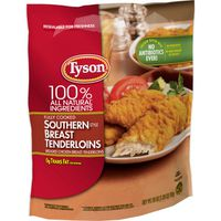 Tyson Fully Cooked Southern Style Chicken Breast Tenderloins, Frozen