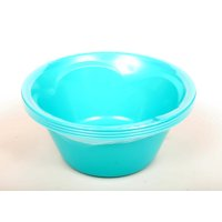 Mainstays Teal Round Plates, 4 Piece