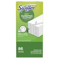 Swiffer Sweeper Dry Cloth Refill, 86 ct