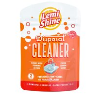 Lemi Shine Disposal Cleaner With Natural Citric Extracts, 2ct