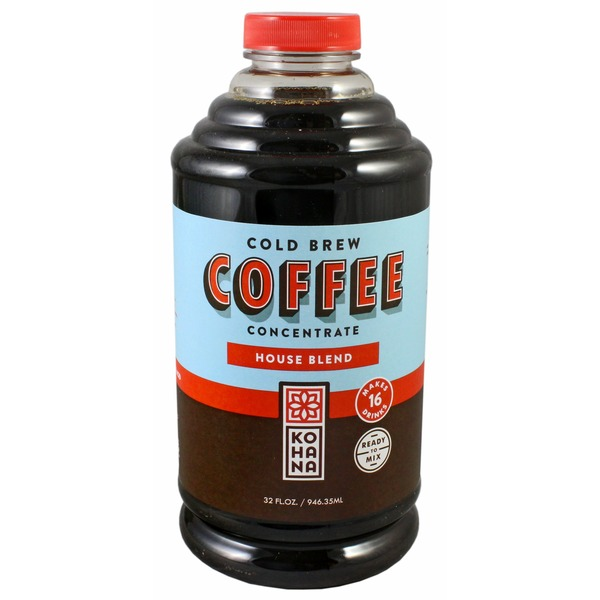Kohana Coffee, Cold Brew, House Blend, Concentrate