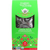 English Tea Shop Organic Green Tea & Pomegranate