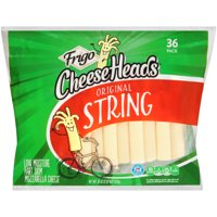 Frigo Cheese Heads Mozzarella String Cheese, 36 Oz., 36 Count