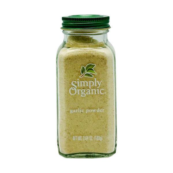 Simply organic Organic Garlic Powder, 3.64 oz