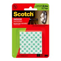 Scotch Indoor Mounting Squares, 1 in. x 1 in., 48/Pack