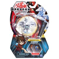 Bakugan Ultra, Pegatrix, 3-inch Collectible Action Figure and Trading Card, for Ages 6 and Up
