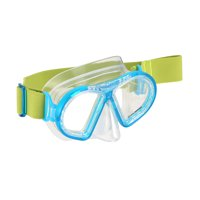 U.S. Divers Toucan Jr Mask for Kids Ages 6+ - Shatter Resistant, Anti-fog Coated, Clear Lens, Leak Free, Easy Adjust Comfortable Fabric Strap, (Blue)
