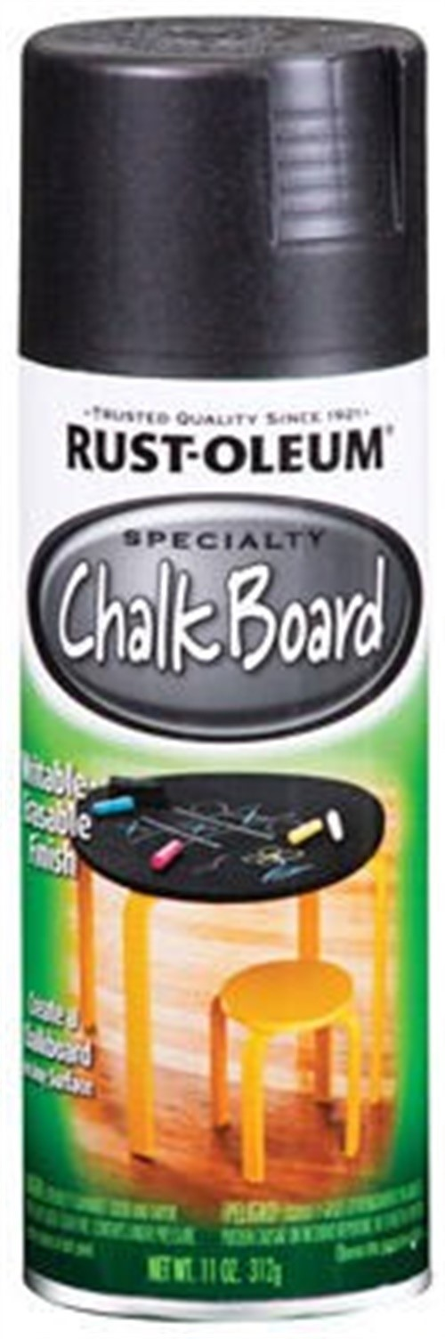 (3 Pack) Rust-Oleum Specialty Flat Black Chalkboard Spray, 11 oz