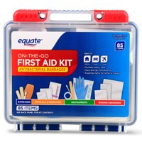 Equate On-The-Go First Aid Kit, 85 Items