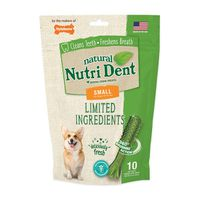 Natural Nutri Dent Deliciously Fresh Dental Chew Treats For Dogs