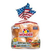 "Wonder Bread 4 1/8"" Hamburger Buns, 8 ct"