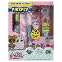 Firefly LOL Surprise Kids' Smile Toothpaste, Toothbrush and Mouthwash Gift Pack