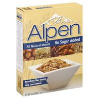 Alpen No Sugar Added Swiss Style Muesli Cereal