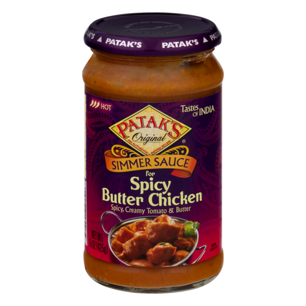 Patak's Simmer Sauce for Spicy Butter Chicken
