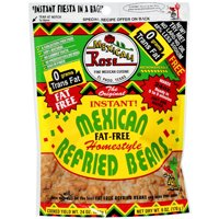 Mexicali Rose The Original World's Greatest Instant Home Style Refried Beans, Fat Free, 6 Oz