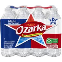 OZARKA Brand 100% Natural Spring Water, 16.9-ounce plastic bottles (Pack of 12)