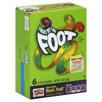 Fruit by the Foot Betty Crocker Fruit Snacks, , Variety Snack Pack
