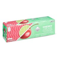 Clear American Sparkling Water, Cherry Limeade, 12 fl oz, 12 Count