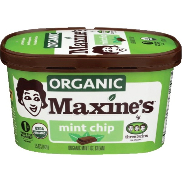 Maxine's Organic  Ice Cream Mint Chip