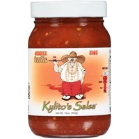 Kylitos Salsa Hot Chunky Garlic, 16 oz