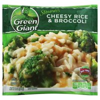 General Mills Green Giant Steamers Cheesy Rice & Broccoli, 12 oz
