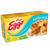 Kellogg's Eggo Frozen Buttermilk Waffles Easy Breakfast 12.3 oz 10 ct