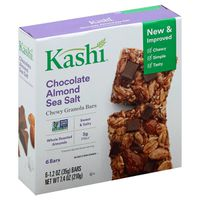 Kashi ® Kashi® Chewy Granola Bars Chocolate Almond Sea Salt