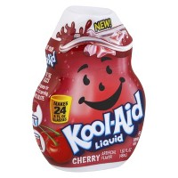 Kool-Aid Cherry Liquid Water Enhancer - 1.62 fl oz Bottle