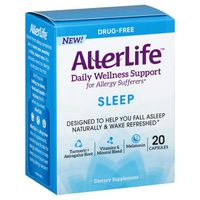 Aller Life Daily Wellness Support, Drug-Free, Sleep, Capsules